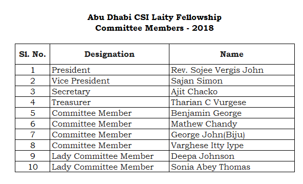 Laity Committee